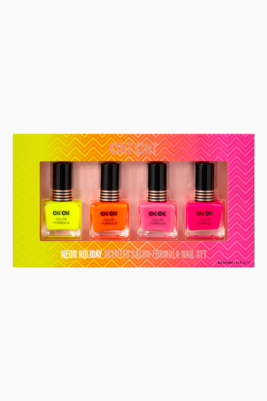 Neon Holiday - Salon Formula Nail Set