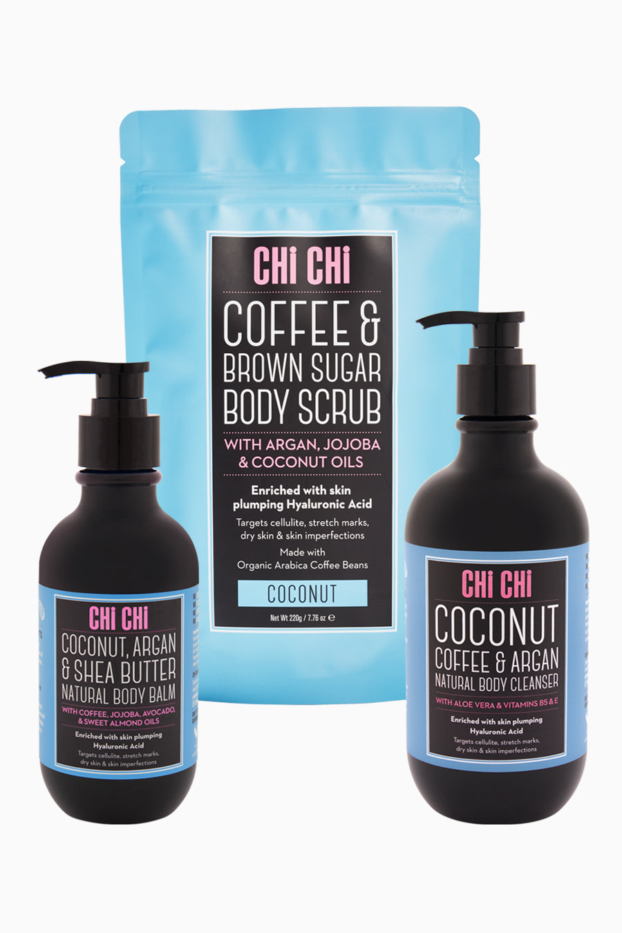 Coconut Natural Body Care Trio