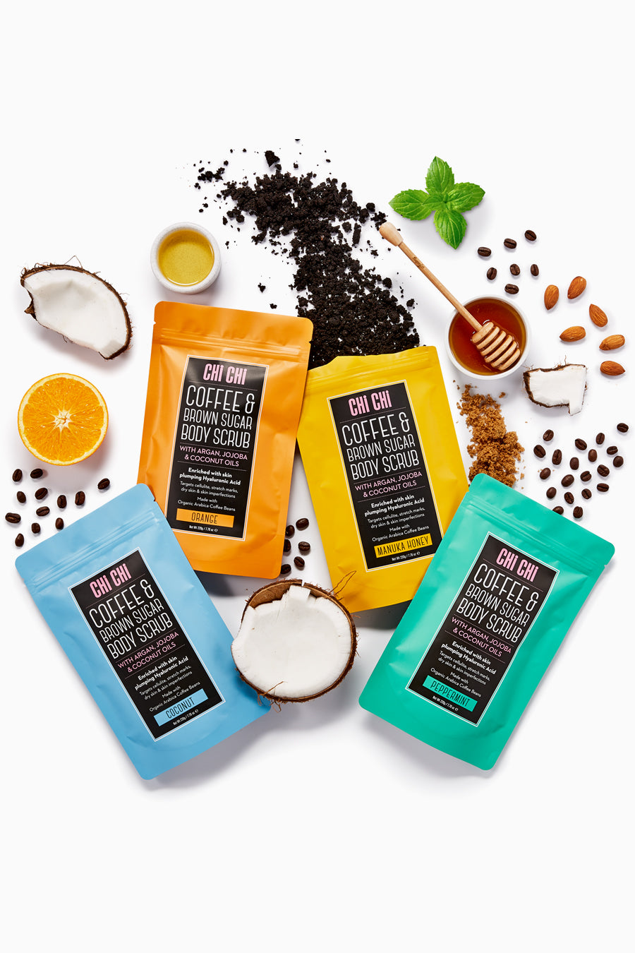 Body Scrub Collection