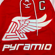 Black Pyramid - Mens - Tri Wing Hockey Jersey - Artwork - Chest