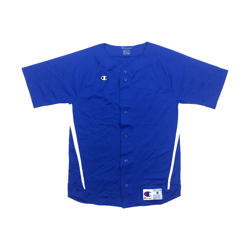 Champion - Mens - Life Prospect Short Sleeved Full Button Baseball Jersey - PremierVII