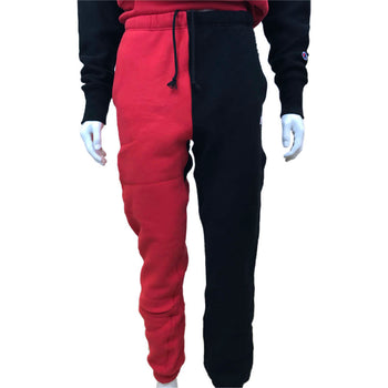 Champion - Mens - Reverse Weave Colorblock Pants - Red