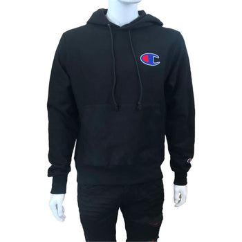 Champion - Mens - Reverse Weave Fleece Hoodie - Black