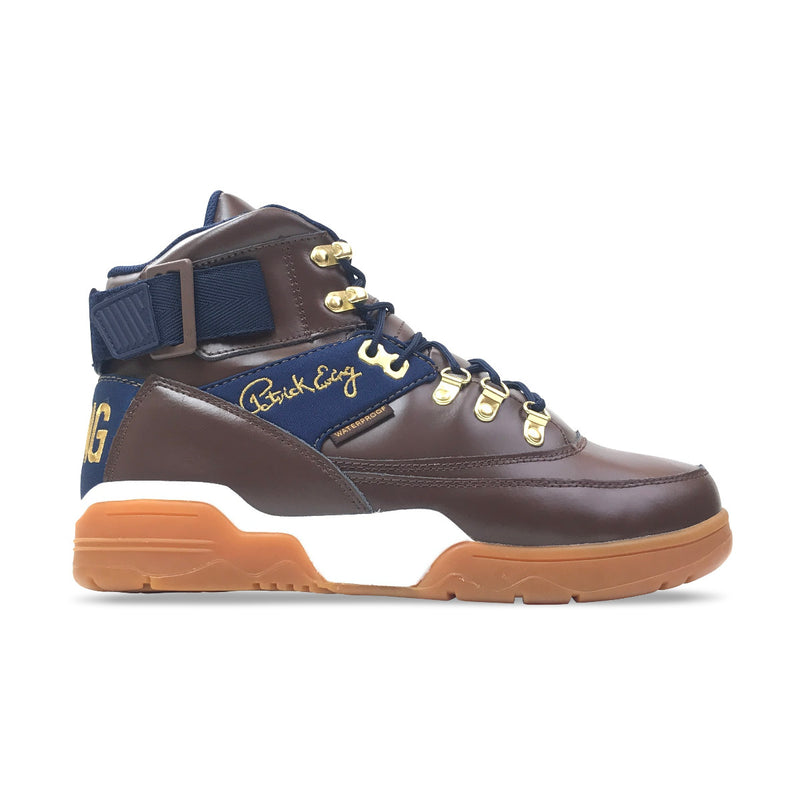 Ewing Athletics 33 Hi Winter Brown & Navy & Gold - PremierVII