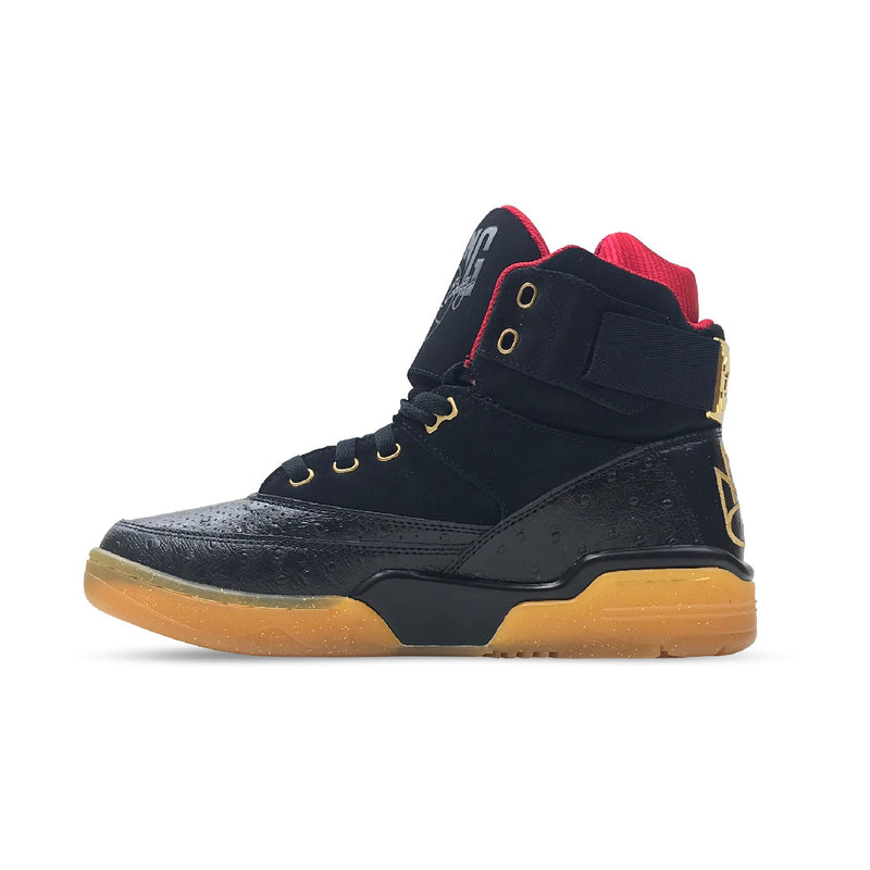 Ewing Athletics 33 Hi x Rick Ross Black & Red & Gold - PremierVII