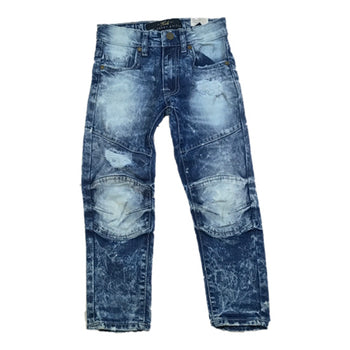 Jordan Craig - Toddlers - New School Moto Denim Jeans - Blue
