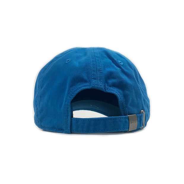 Lacoste Big Croc Garbadine Hat Plane Blue Back
