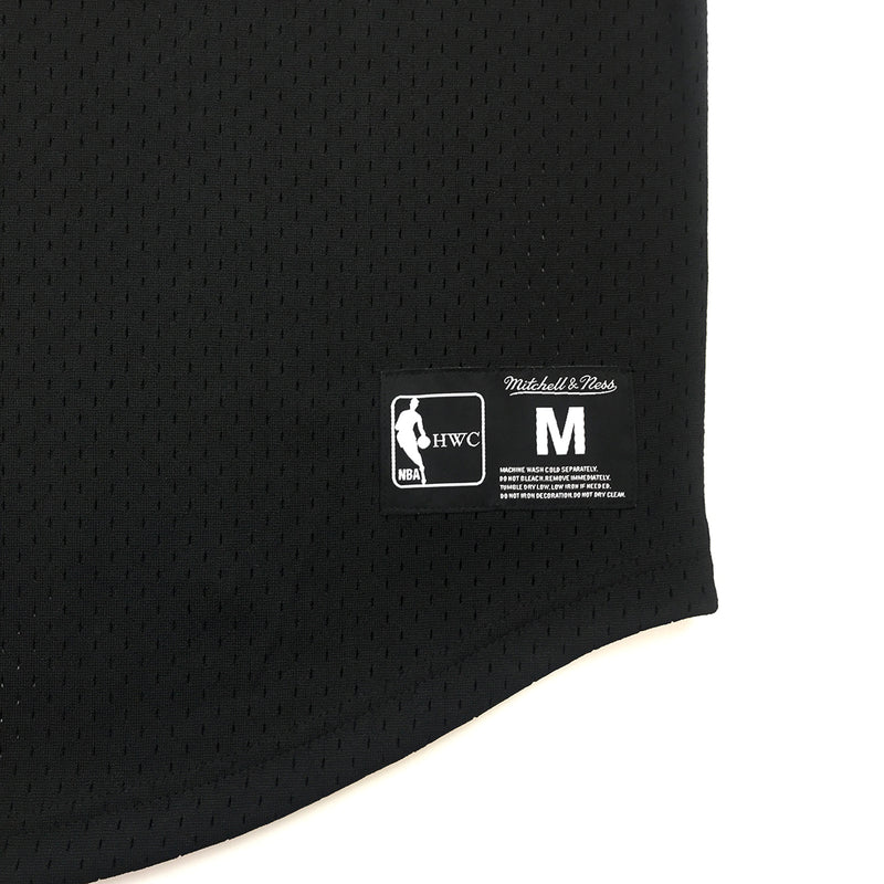 Mitchell & Ness Chicago Bulls Mesh Jersey Trademark Black