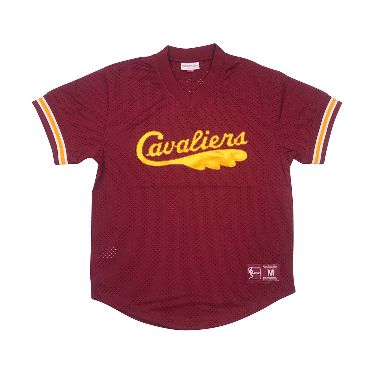 official photos c5553 f6900 Mitchell & Ness Cleveland Cavaliers Mesh Jersey