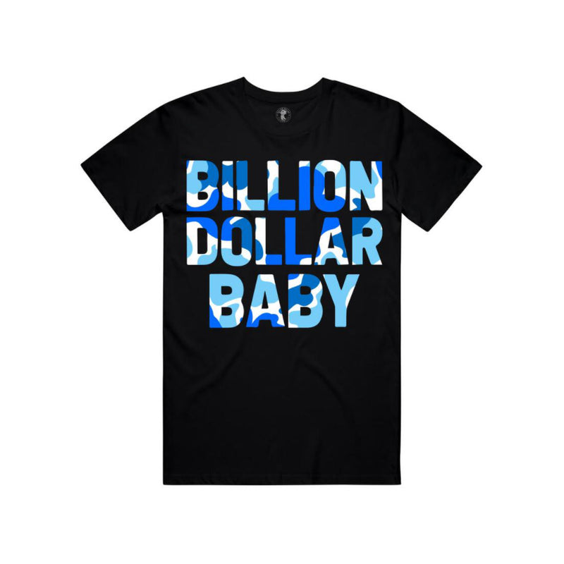 Billion Dollar Baby Men's Blueberry Camo T-Shirt