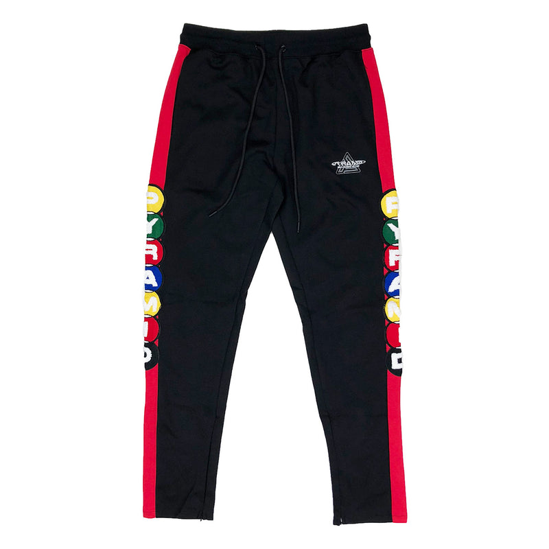 Black Pyramid Billiard Club Track Pants - PremierVII