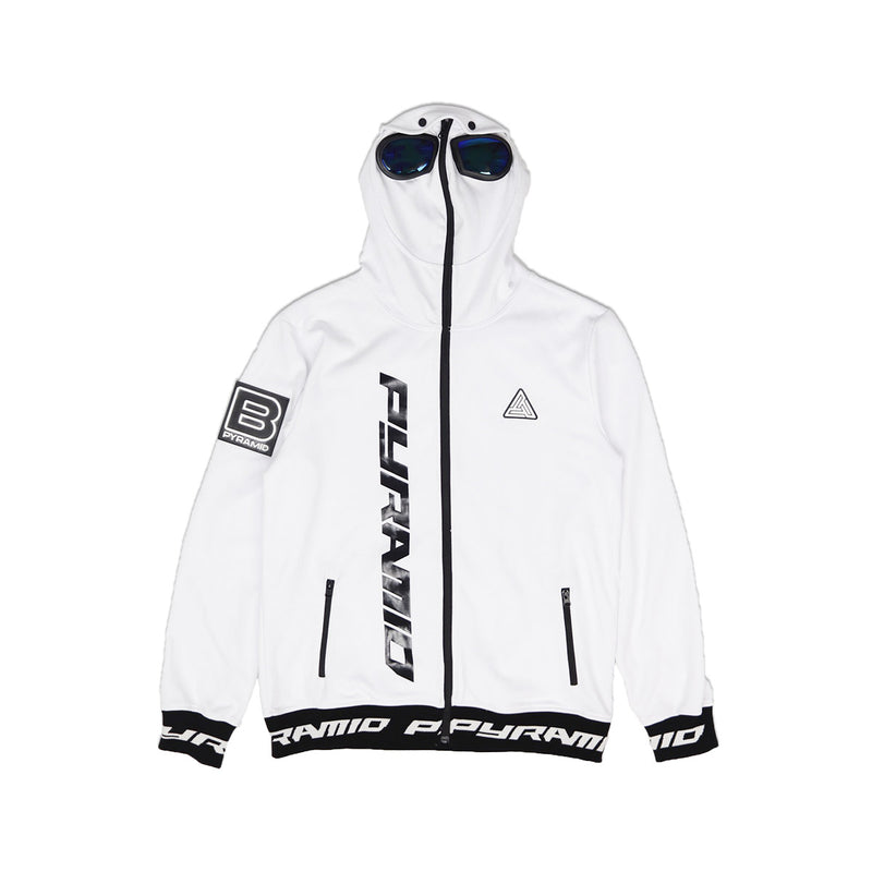 Black Pyramid Goggles Zip Up Sweatshirt - PremierVII