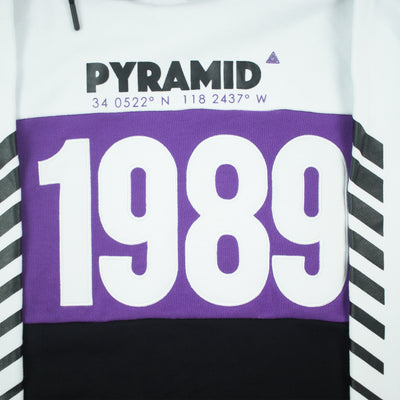 Black Pyramid Men's 1989 Hoody Black Artwork
