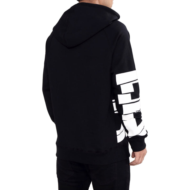 Black Pyramid Men's Broken Glass Hoodie Back
