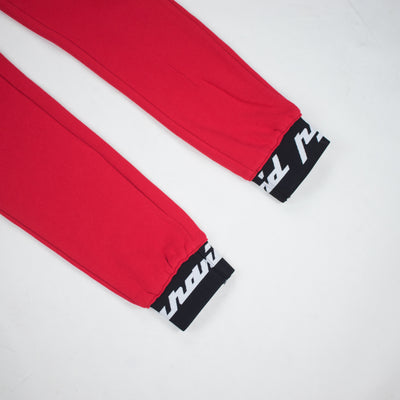Black Pyramid Men's Core 3D Rubber Patch Pants Red Cuffs
