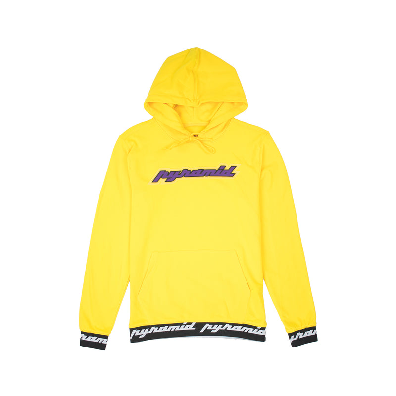 Black Pyramid Men's Core Rubber 3D Patch Hoodie Yellow