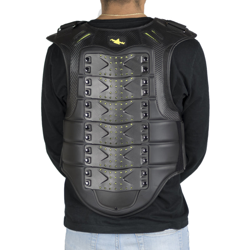 Black Pyramid Men's Street-X Vest Black Back