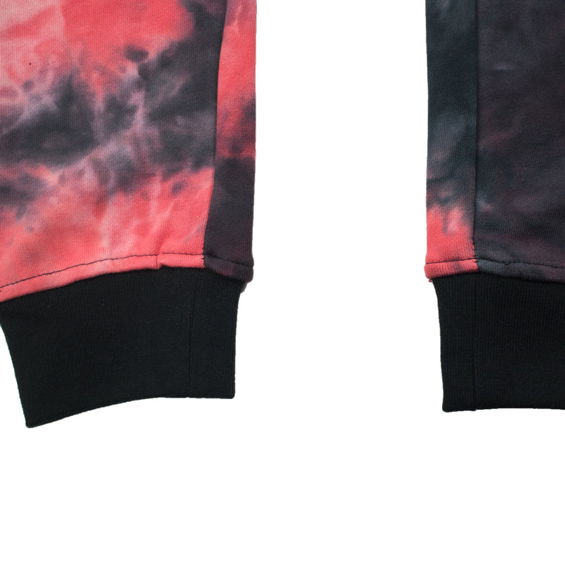 Black Pyramid Men's Tie-Dye Drip Pants Pink Bottoms