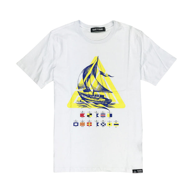 Black Pyramid Sailing Short Sleeved Shirt - PremierVII