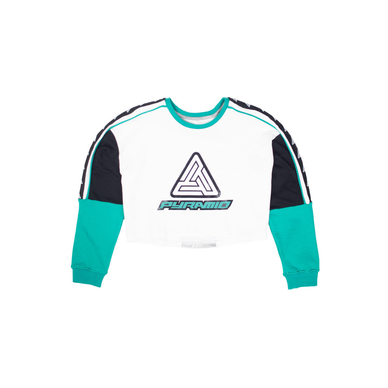 Black Pyramid Women's Color Blocked Logo Sweatshirt - PremierVII