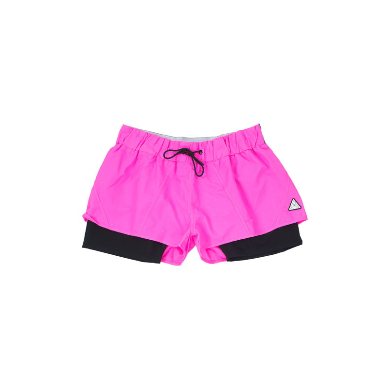 Black Pyramid Women's Tape Logo Shorts - PremierVII