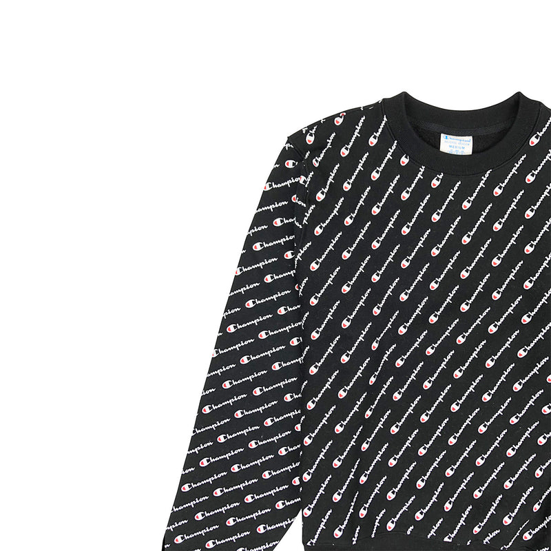 Champion Reverse Weave All Over Print Crew Neck - PremierVII