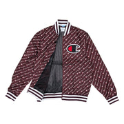 Champion All Over Print Satin Baseball Jacket - PremierVII