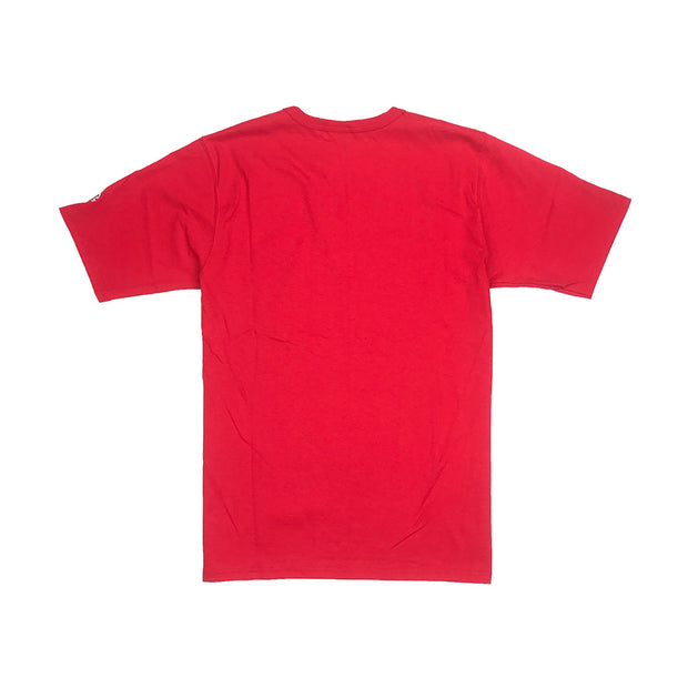 Champion Big C Logo T-Shirt Team Red Scarlet Back
