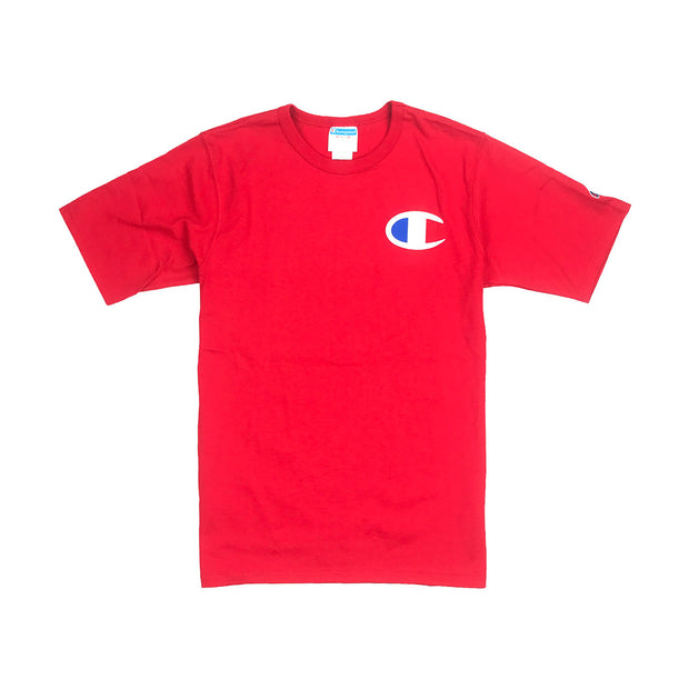 Champion Big C Logo T-Shirt Team Red Scarlet
