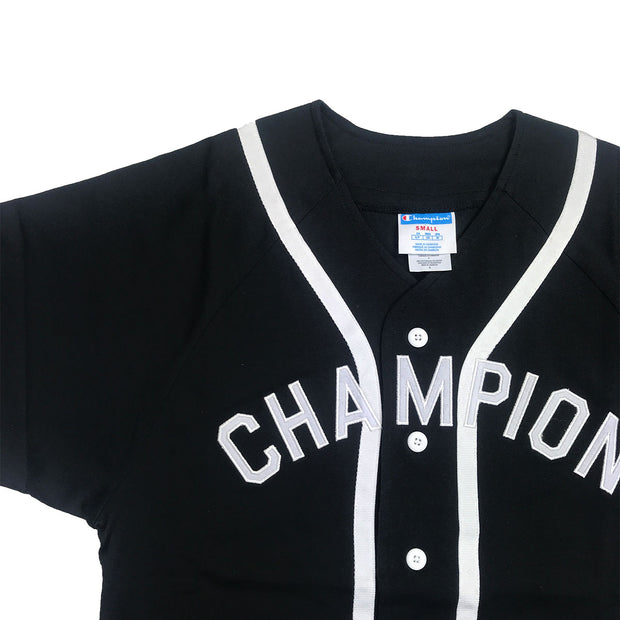 Champion Braided Baseball Jersey Logo