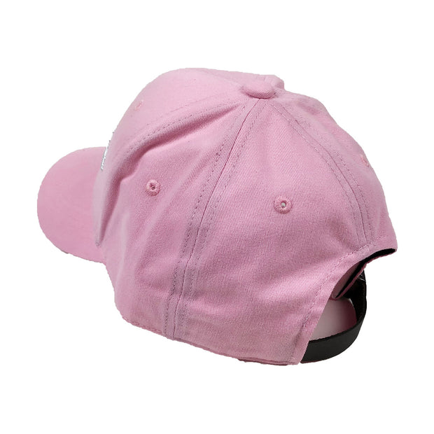 Champion Classic Twill Strapback Dad Hat Pink Candy Back