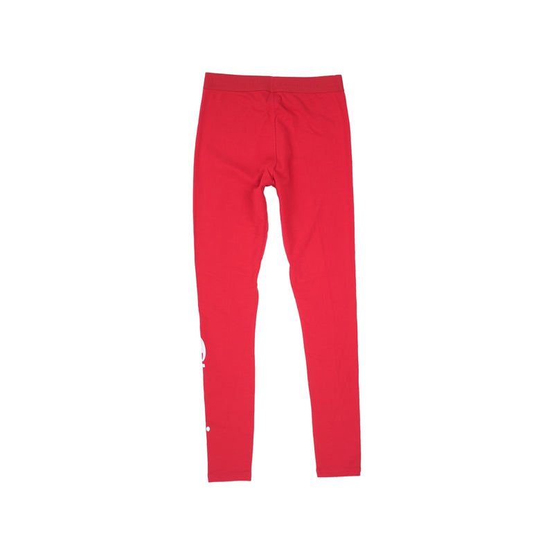 Champion Life Women's Vertical Logo Tights Scarlet Back