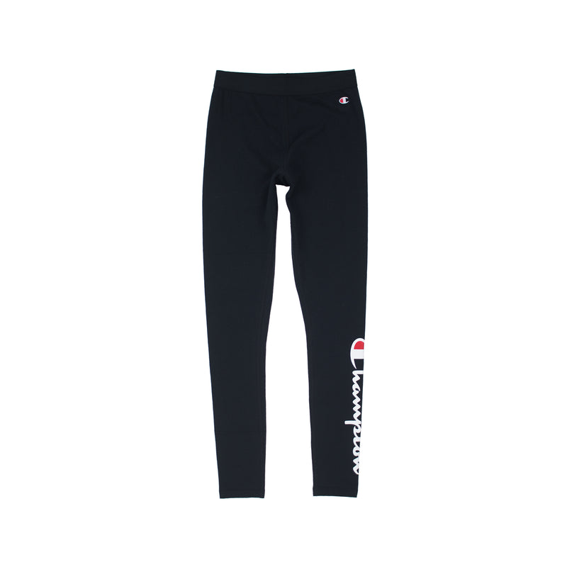 Champion Life Women's Vertical Logo Tights Black