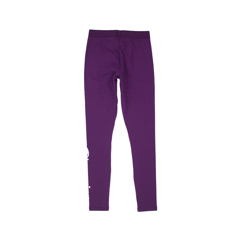 Champion Life Women's Vertical Logo Tights Venetian Purple Back