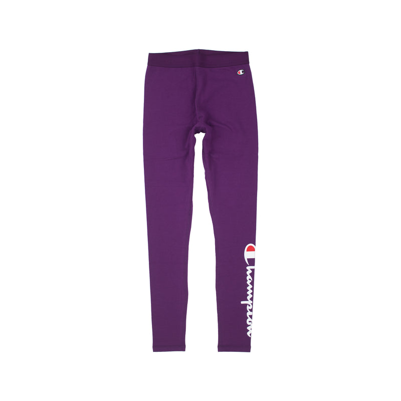 Champion Life Women's Vertical Logo Tights Venetian Purple