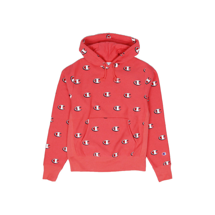Champion Men's Reverse Weave All Over Print Pullover Hoodie - PremierVII