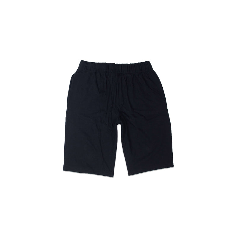 Champion Men's Reverse Weave Cut Off Shorts Black Back