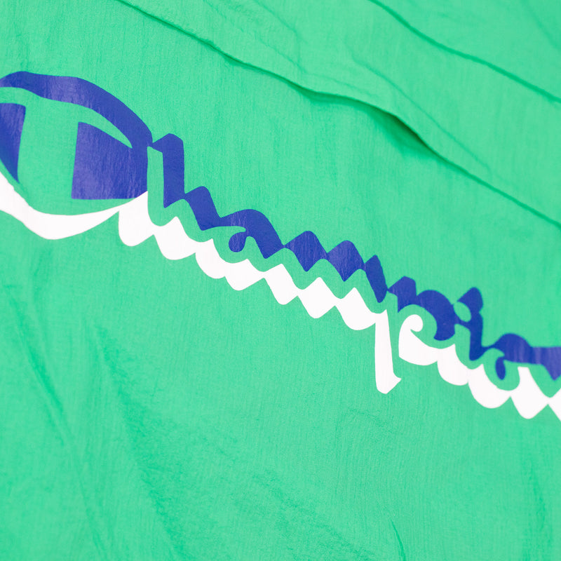 Champion Men's Manorak Green Myth Logo