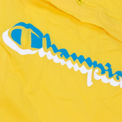 Champion Men's Manorak Sunny Yellow Logo