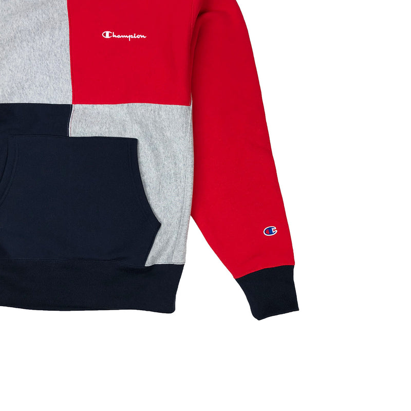 Champion Men's Reverse Weave Color Block Crew Neck - PremierVII