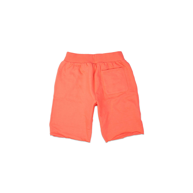 Champion Men's Reverse Weave Cut Off Shorts Groovy Papaya Back