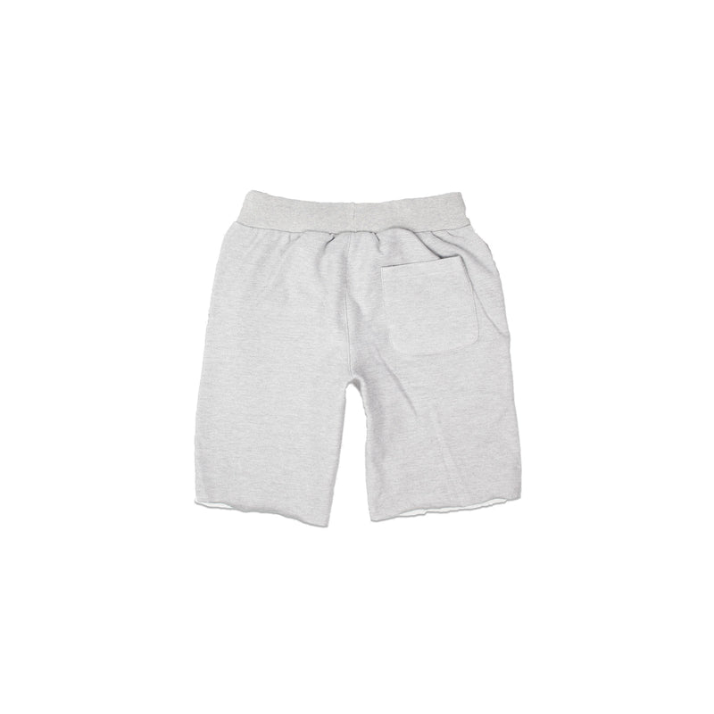 Champion Men's Reverse Weave Cut Off Shorts Oxford Grey Back