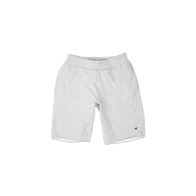 Champion Men's Reverse Weave Cut Off Shorts Oxford Grey
