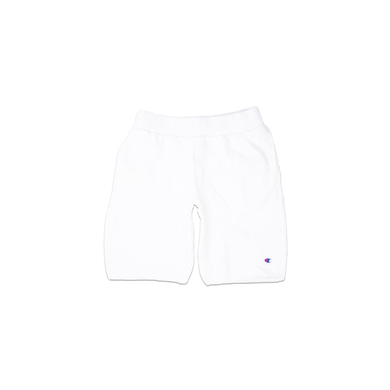 Champion Men's Reverse Weave Cut Off Shorts White