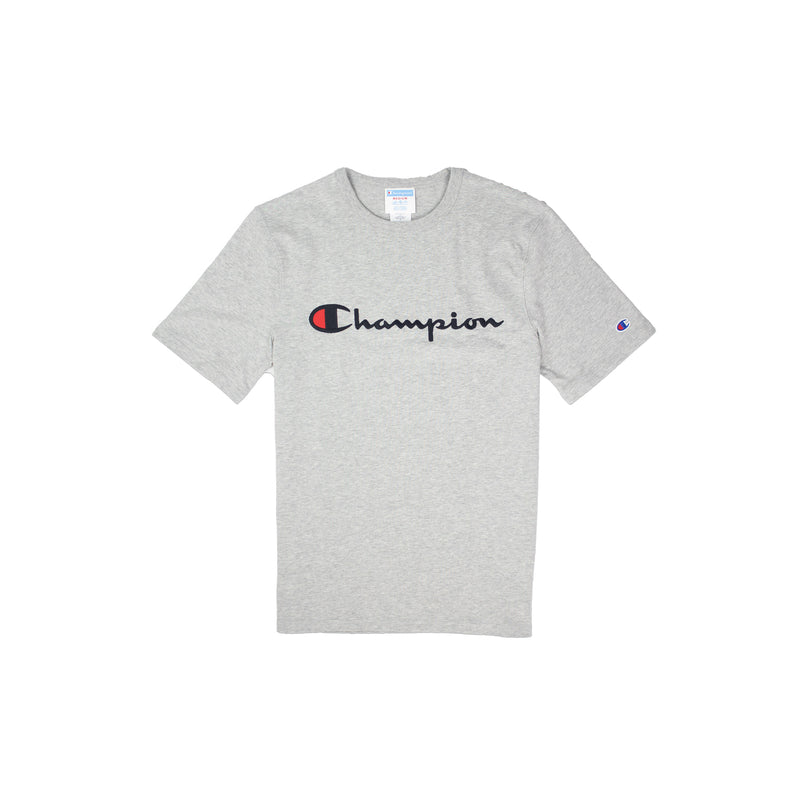 Champion Men's Reverse Weave Embroidered Script Tee - PremierVII
