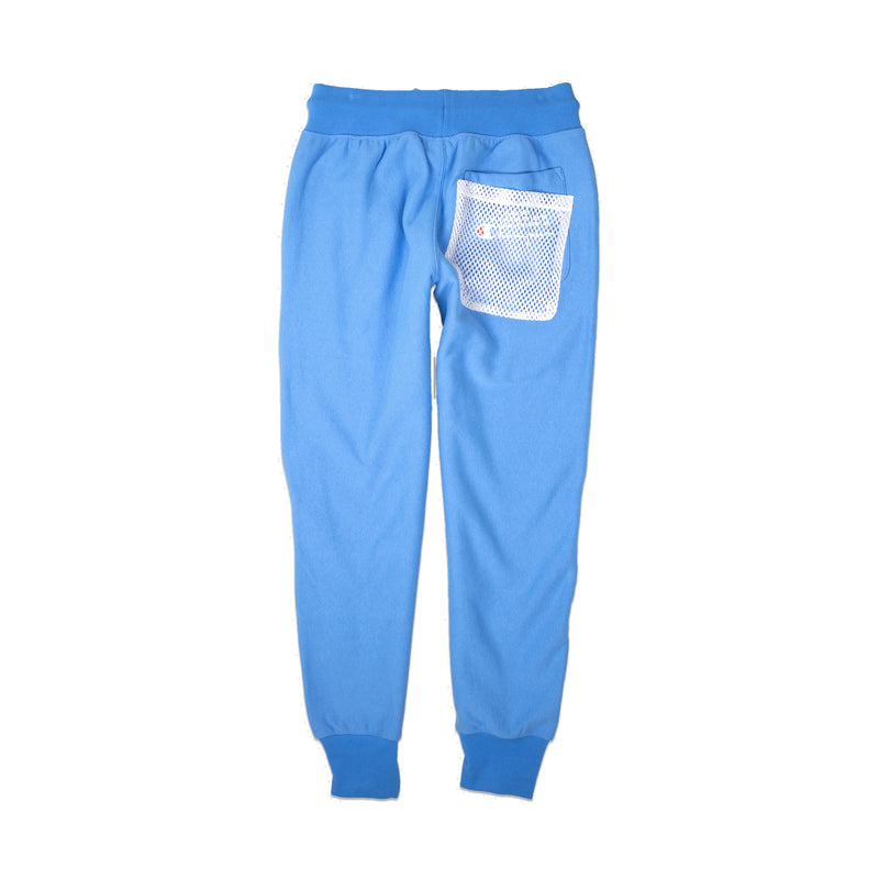 Champion Men's Reverse Weave Shift Joggers Active Blue Back