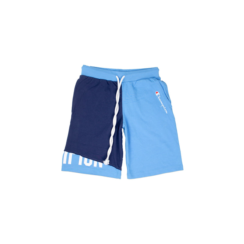 Champion Men's Reverse Weave Shift Shorts Active Blue & Navy