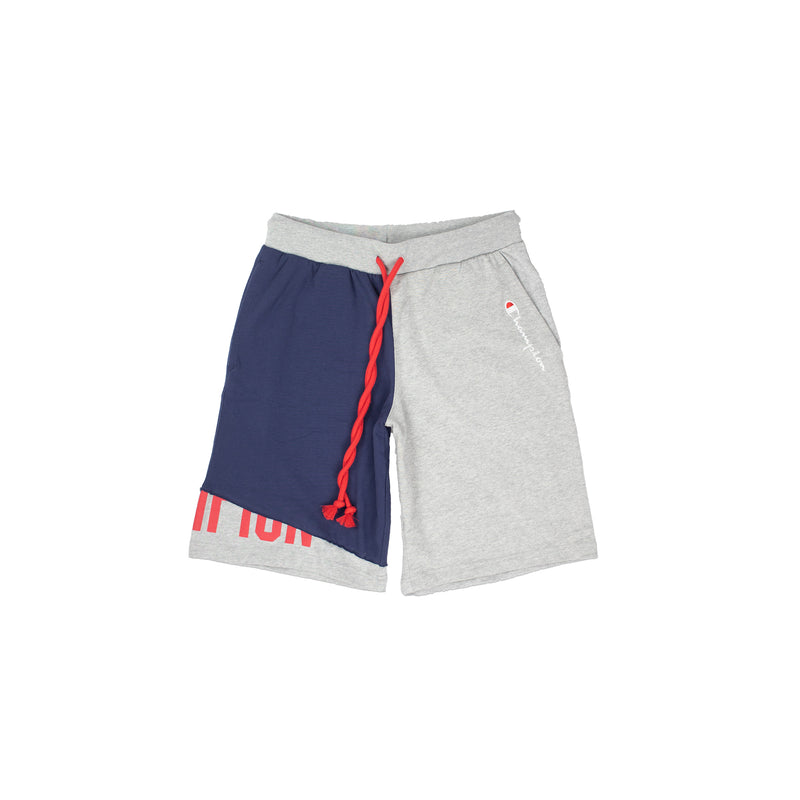 Champion Men's Reverse Weave Shift Shorts Heather Grey & Navy