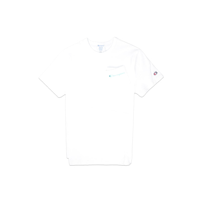 Champion Men's Reverse Weave Shift Tee White Back
