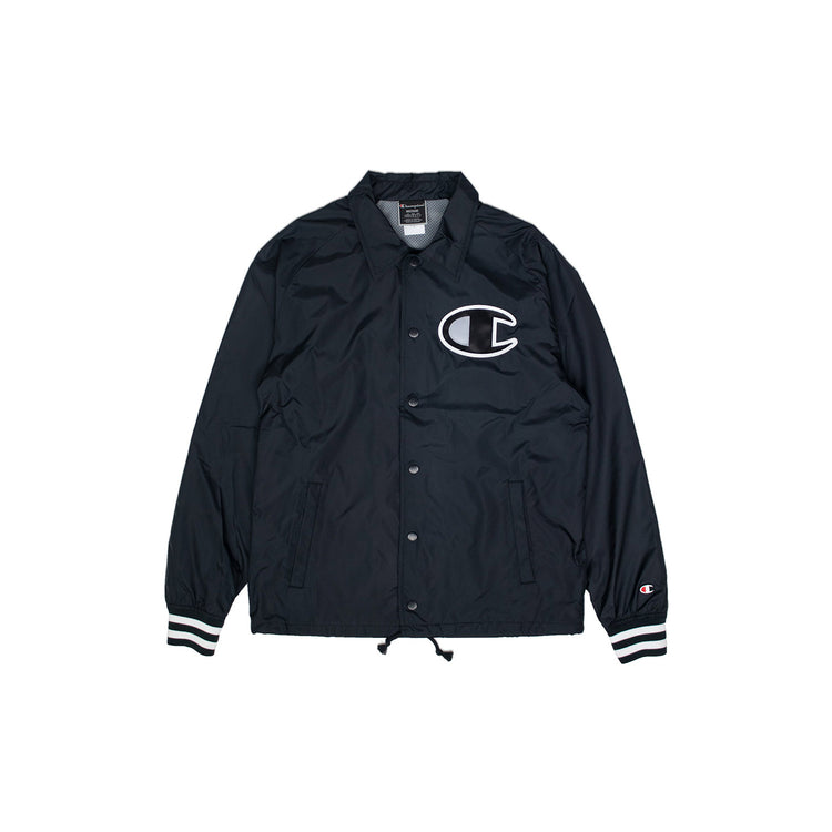 Champion Men's Satin Ribbed Cuff Coaches Jacket - PremierVII